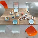 kleur aan tafel