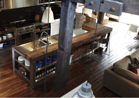 Industriele Keuken Kopen : industriele keuken -