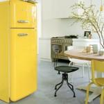 gekleurde koelkast