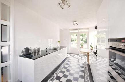 Keukens een keuken kopen zonder zorgen - Keuken blauw en wit ...