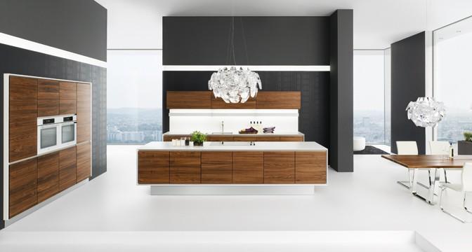 keukenfront van hout -