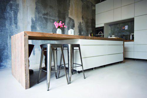 Betonlook Keuken Achterwand : restyleXL