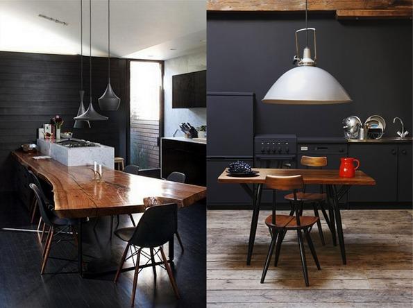 Keuken houten zwart - Zwarte houten keuken ...