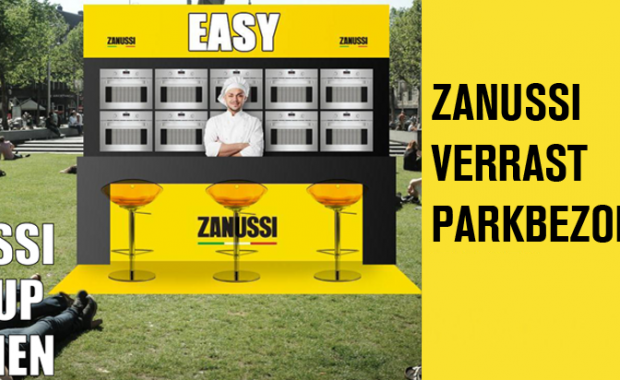 pop-up kitchen Zanussi