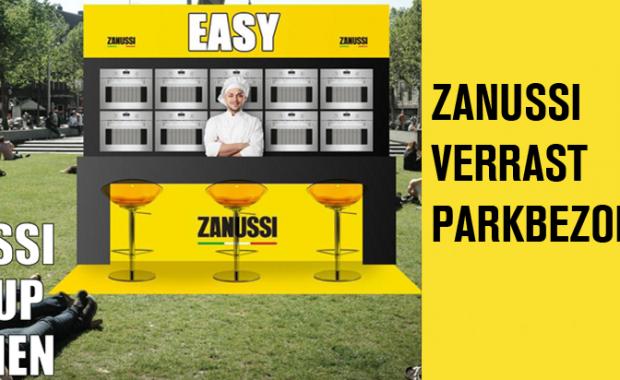 pop-up kitchen Zanussi
