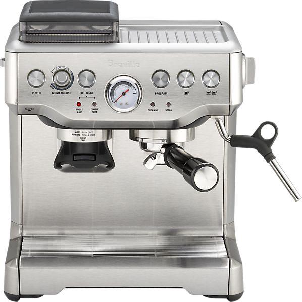 espresso machine voor in de keuken