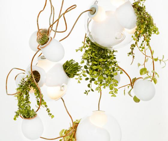 gloeiende lampen