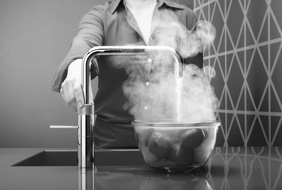 kokend water uit keukenkraan