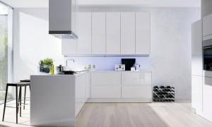 Afvalbakje Keuken Keukentafel : Witte keukens