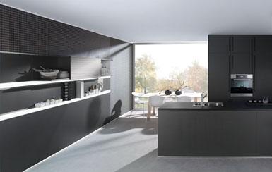 Keuken Kookeiland Zwart : Optimaal zwart