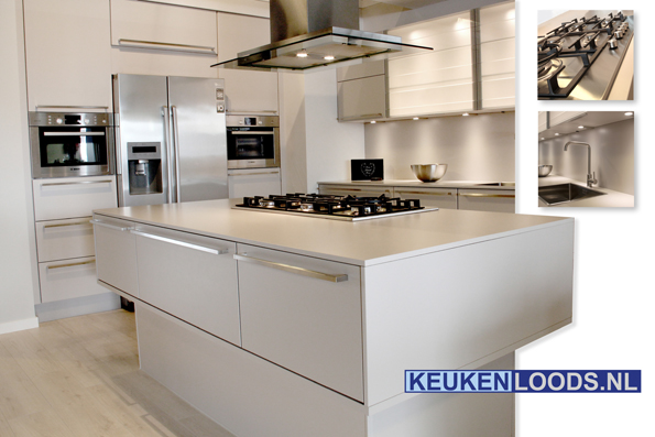 Keukenopstelling trendy keuken